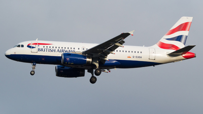 A picture of GEUOA - Airbus A319131 - British Airways - © RJL