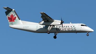 A picture of CFJVV - De Havilland Canada Dash 8300 - Air Canada - © William S. Carrasquillo