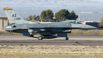 86-0285 - General Dynamics F-16C Fighting Falcon - United States - US Air Force (USAF)