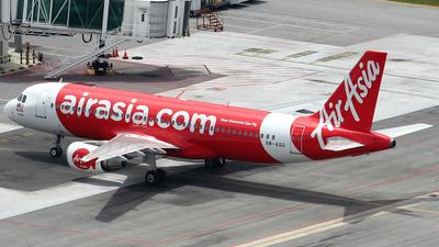 9M-AQG - Airbus A320-216 - AirAsia