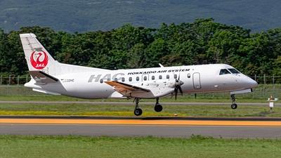 A picture of JA02HC - Saab 340B - Hokkaido Air System - © S. Waki