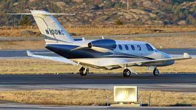 N100MC - Cessna 525 CitationJet M2 - Private