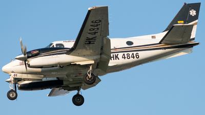 HK-4846 - Beechcraft C90GTi King Air - MedicalFly