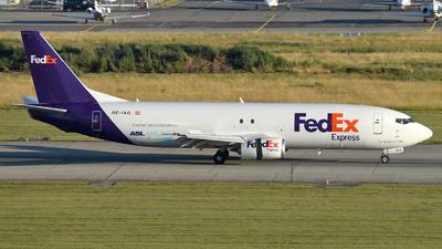 A picture of OEIAG - Boeing 7374Q8(SF) - FedEx - © Mathias Moeri