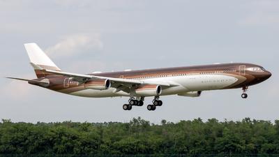 M-IABU - Airbus A340-313E - Bourkhan (Global Jet Luxembourg)