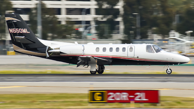 N550ML - Cessna 550B Citation Bravo - Private