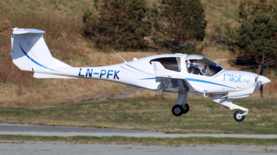 LN-PFK - Diamond DA-40NG Diamond Star - Pilot Flight Academy