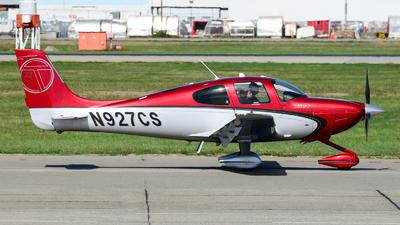 N927CS - Cirrus SR22T - Private
