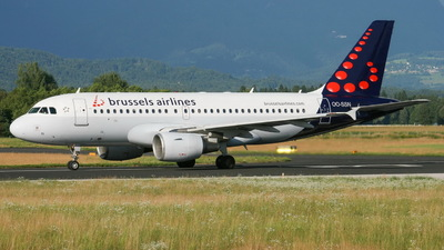 A picture of OOSSN - Airbus A319112 - Brussels Airlines - © Bostjan Henigman