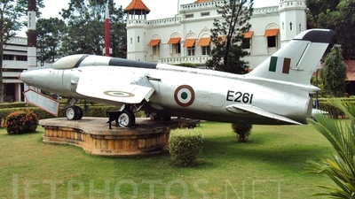 E261 - Folland Gnat - India - Air Force