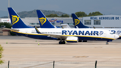 A picture of EIEVK - Boeing 7378AS - Ryanair - © Fabrizio Spicuglia