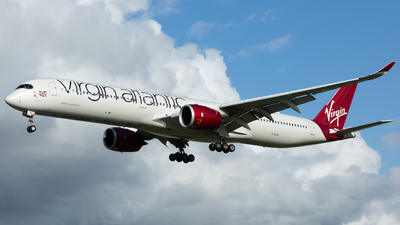G-VLUX - Airbus A350-1041 - Virgin Atlantic Airways
