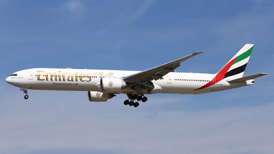 A picture of A6EQN - Boeing 77731H(ER) - Emirates - © Eric Boettcher