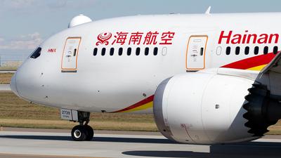 B-2739 - Boeing 787-8 Dreamliner - Hainan Airlines
