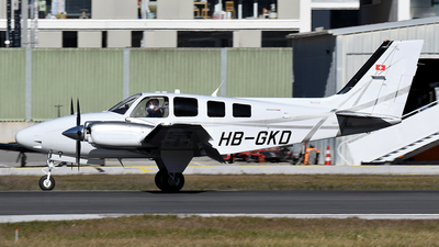 HB-GKD - Beechcraft G58 Baron - Private