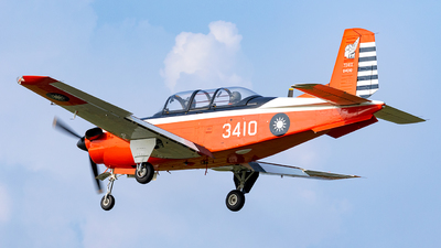 3410 - Beechcraft T-34C Turbo Mentor - Taiwan - Air Force