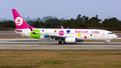 A picture of B1172 - Boeing 73786X - 9 Air - © yajoo