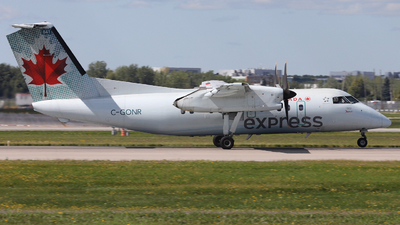 C-GONR - Bombardier Dash 8-102 - Air Canada Express (Jazz Aviation)
