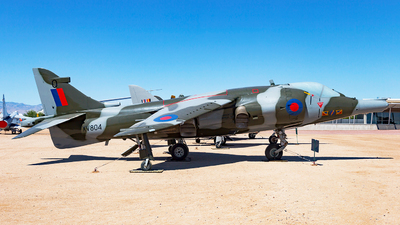 XV804 - Hawker Siddeley Harrier GR.3 - United Kingdom - Royal Air Force (RAF)