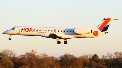 F-GRGG - Embraer ERJ-145EU - HOP! for Air France