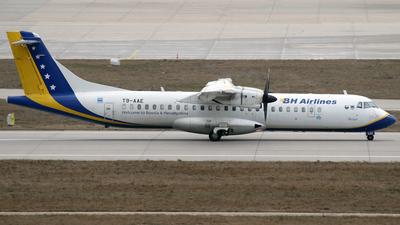 T9-AAE - ATR 72-212 - BH Airlines