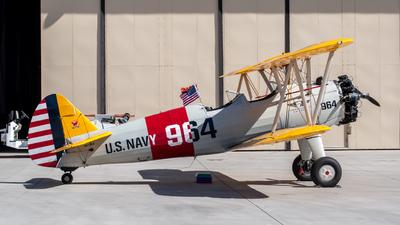 N47964 - Boeing N2S-3 Stearman - Private