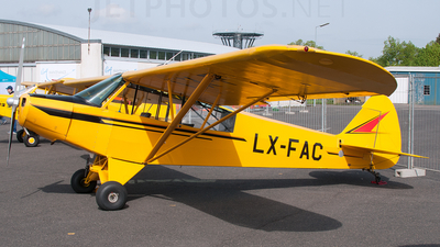 LX-FAC - Piper PA-18 Super Cub - Private