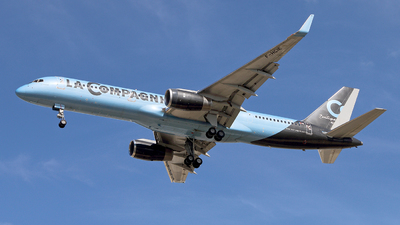 F-HCIE - Boeing 757-204 - La Compagnie
