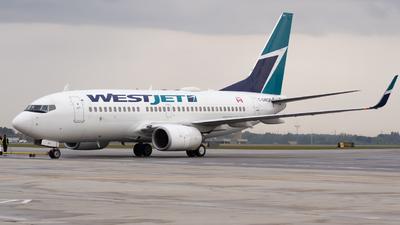 C-GWCM - Boeing 737-7CT - WestJet Airlines
