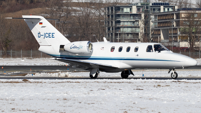 D-ICEE - Cessna 525 CitationJet 1 - E-Aviation