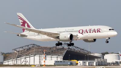 A picture of A7BCQ - Boeing 7878 Dreamliner - Qatar Airways - © Moritz Babl