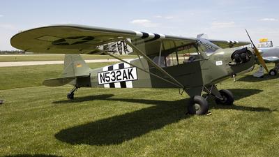 N532AK - American Legend AL3 Cub - Private