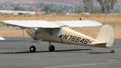 A picture of N76646 - Cessna 120 - [11086] - © Eric Page Lu