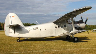 D-FOJN - PZL-Mielec An-2T - Private