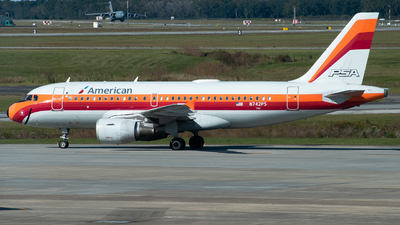 A picture of N742PS - Airbus A319112 - American Airlines - © Devin | Charleston Spotter