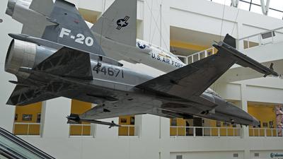 N44671 - Northrop F-20 Tigershark - Northrop Grumman