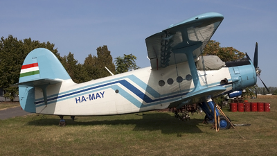 HA-MAY - PZL-Mielec An-2R - Private