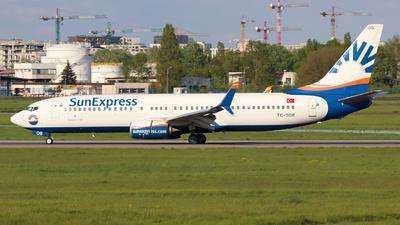 A picture of TCSOB - Boeing 7378HC - SunExpress - © wroblik75