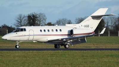 LY-BGD - Hawker Beechcraft 850XP - Private