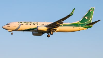 YI-ASI - Boeing 737-81Z - Iraqi Airways