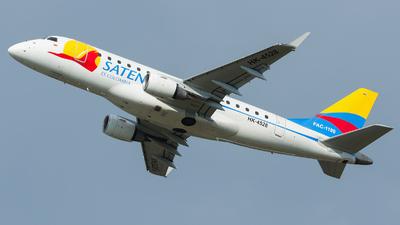 HK-4528 - Embraer 170-100LR - Satena