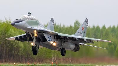 RF-92155 - Mikoyan-Gurevich MiG-29UB Fulcrum - Russia - Air Force