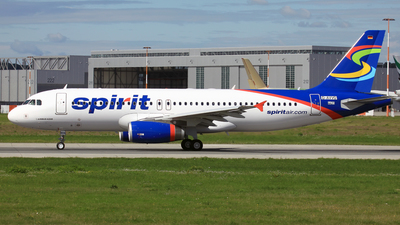 D-AVVO - Airbus A320-232 - Spirit Airlines