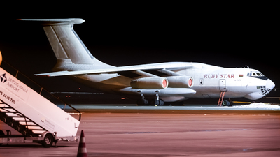 A picture of EW412TH - Ilyushin Il76TD - Rubystar - © Valentin A.