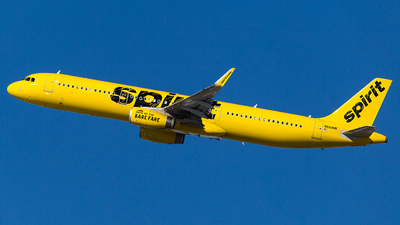 N684NK - Airbus A321-231 - Spirit Airlines