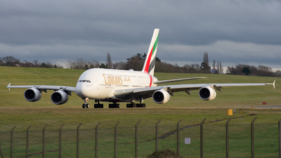 A6-EUO - Airbus A380-842 - Emirates