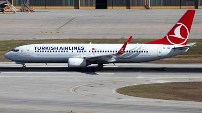 TC-JGV - Boeing 737-8F2 - Turkish Airlines