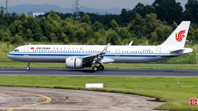 B-323Q - Airbus A321-272NX - Air China