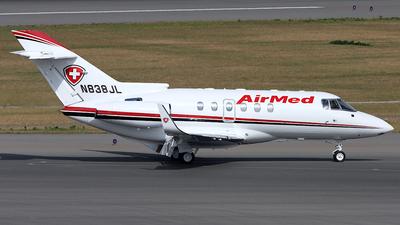 N838JL - British Aerospace BAe 125-800(SP) - AirMed