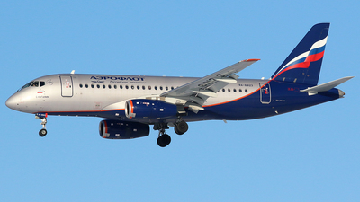 A picture of RA89123 - Sukhoi Superjet 10095B - Aeroflot - © BizavMen